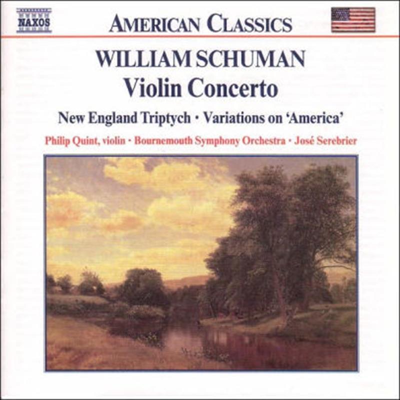 William Schuman - Violin Concerto   CD