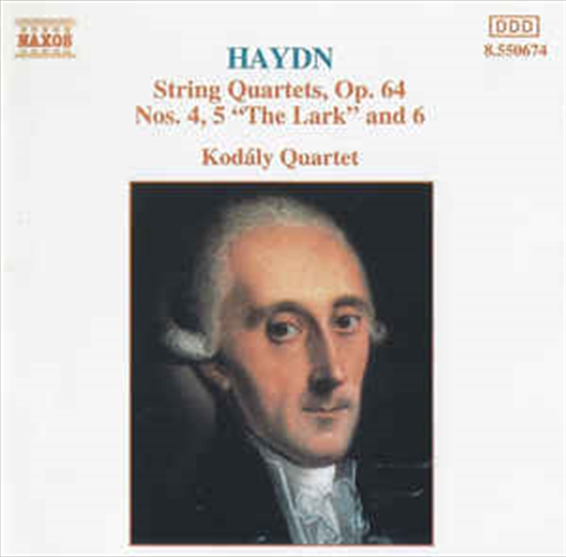 Haydn - String Quartets Op. 64 No 4 And5 - The Lark And 6 | CD