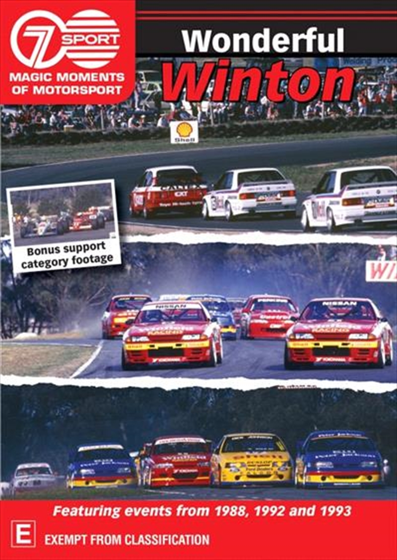 Magic Moments Of Motorsport - Wonderful Winton   DVD