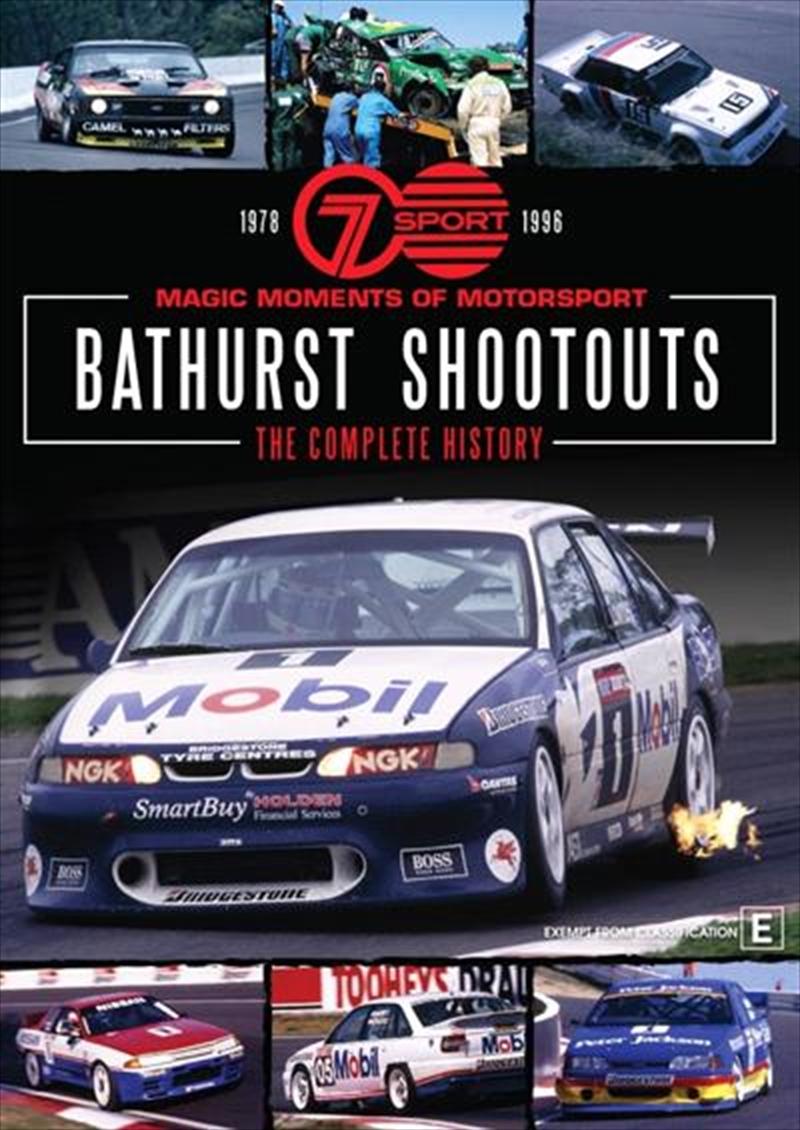 Magic Moments Of Motorsport - Bathurst Shootouts - The Complete History   DVD