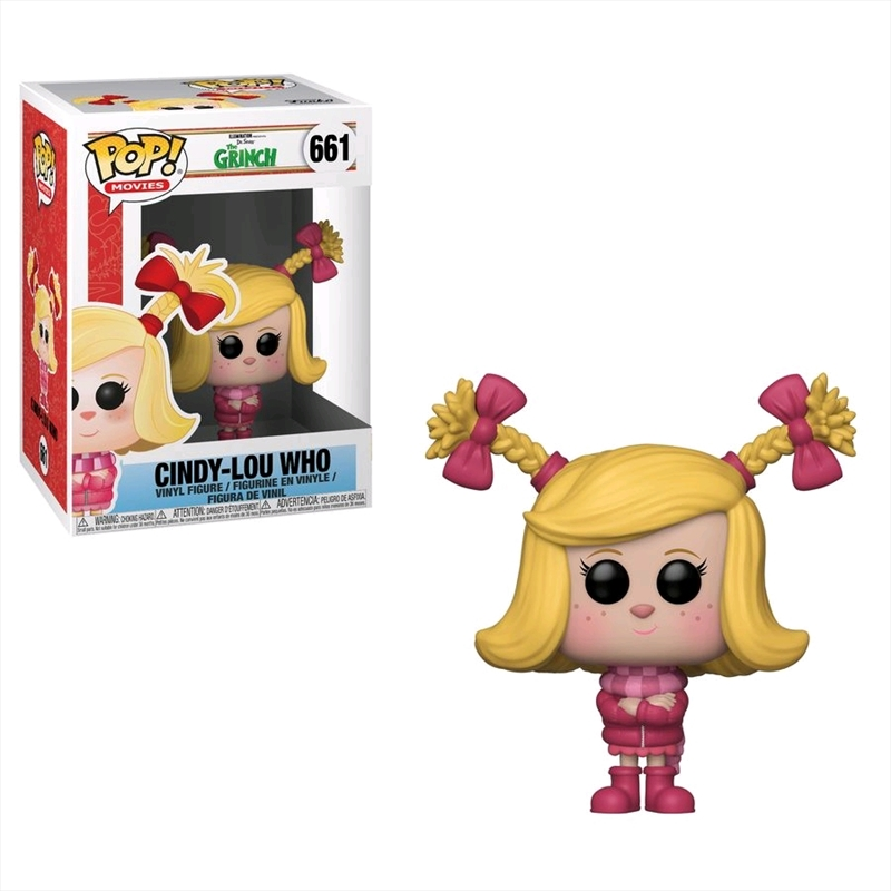 The Grinch (2018) - Cindy-Lou Who Pop! Vinyl | Pop Vinyl