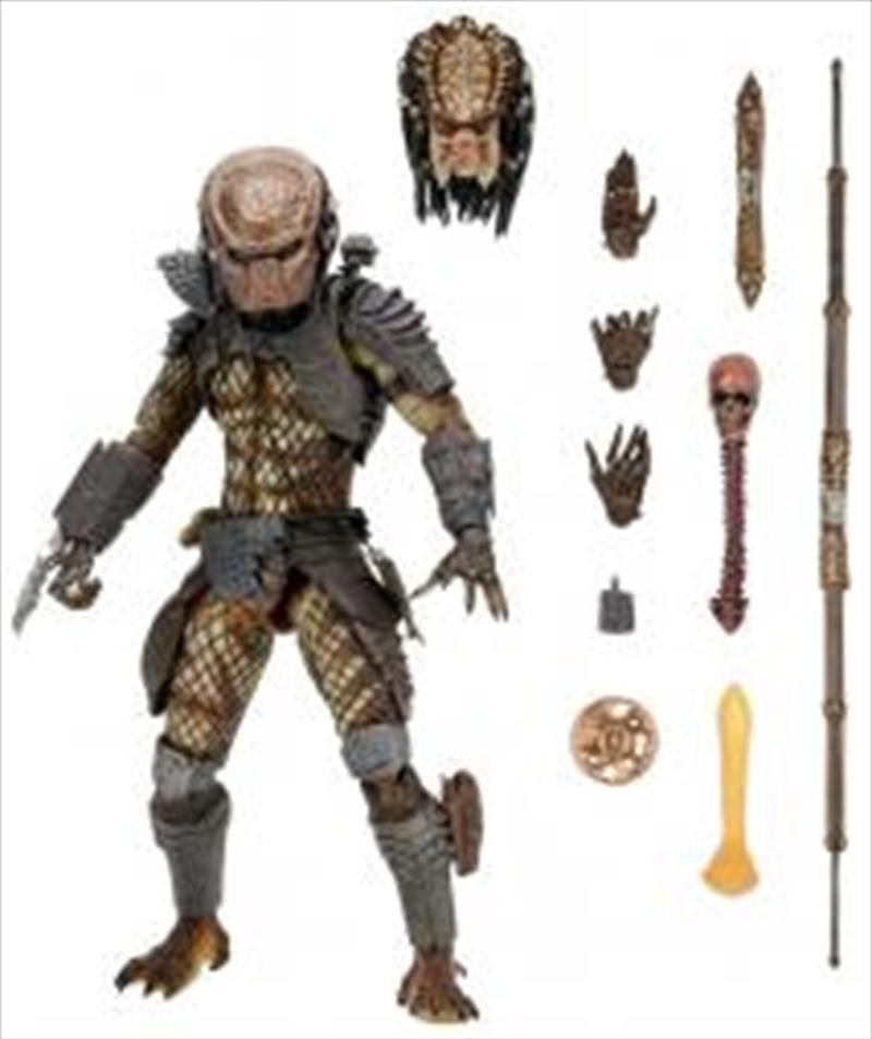 "Predator 2 - 7"" Ultimate City Hunter Figure   Merchandise"