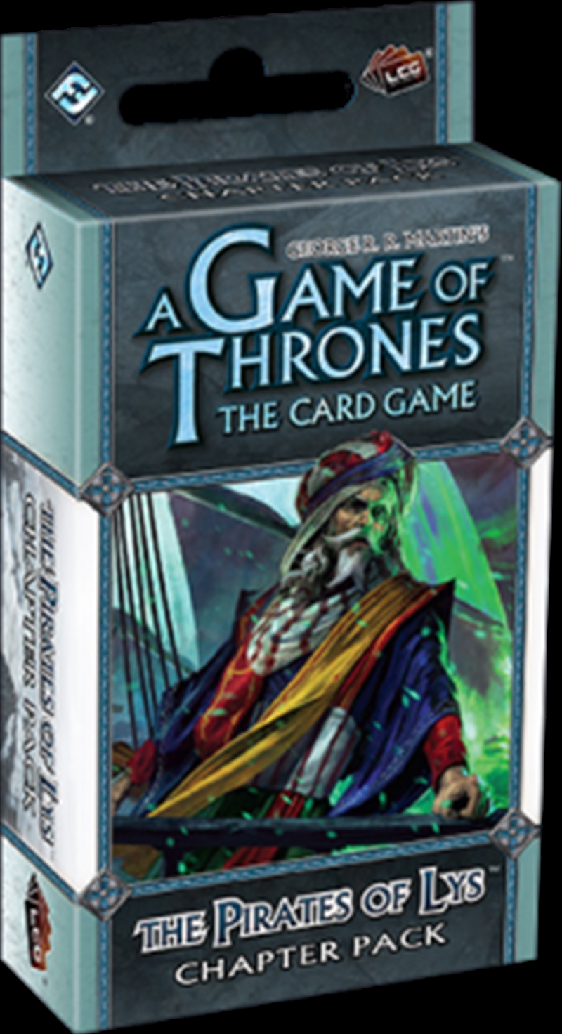 Game of Thrones - LCG The Pirates of Lys Chapter Pack Expansion | Merchandise