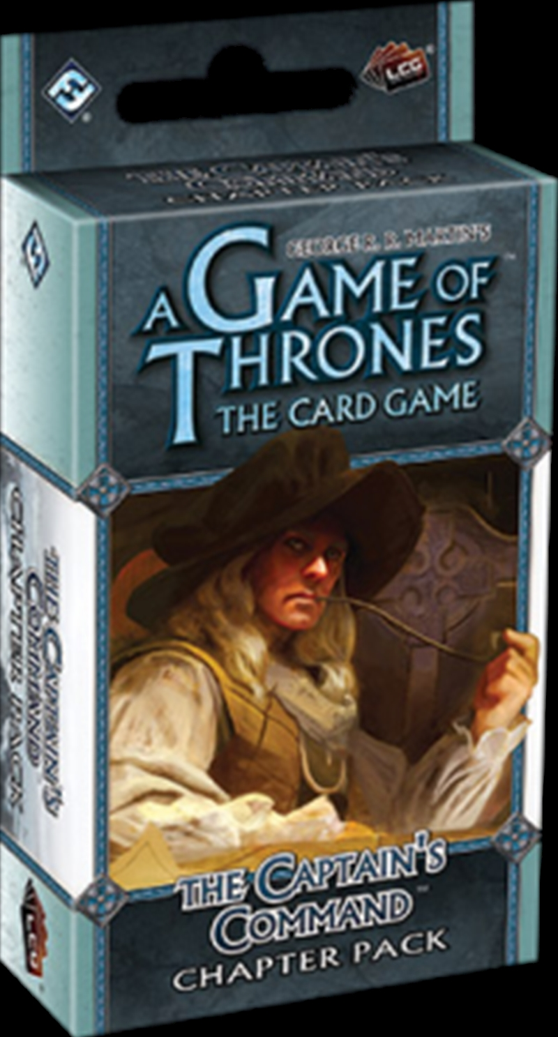 Game of Thrones - LCG The Captain's Command Chapter Pack Expansion | Merchandise