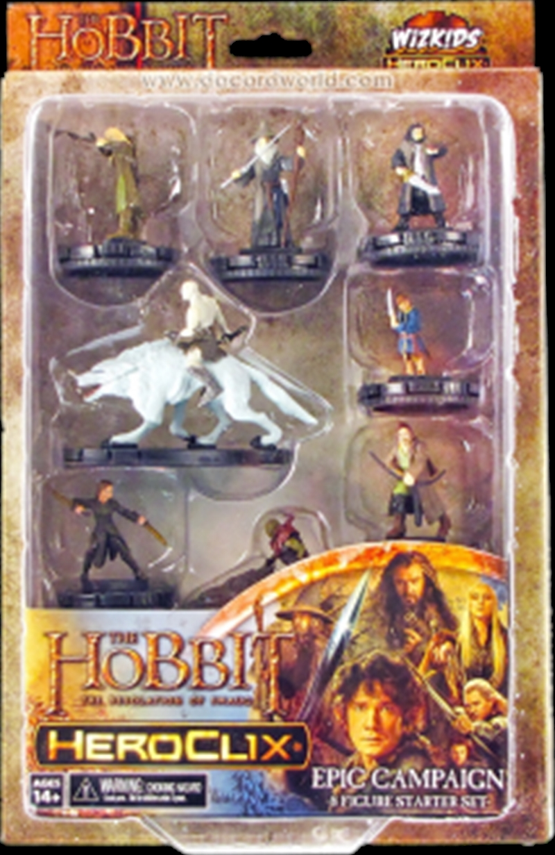 Heroclix - The Hobbit Desolation of Smaug Campaign Starter | Merchandise