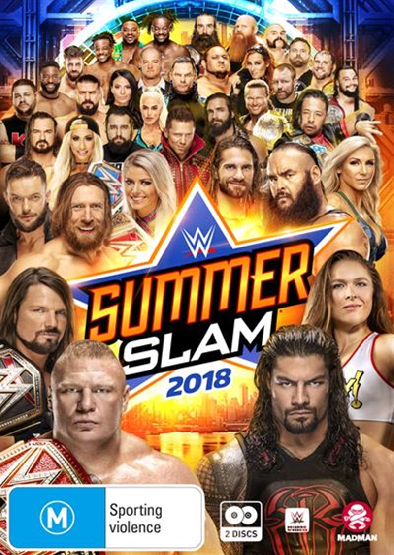 WWE - SummerSlam 2018 | DVD