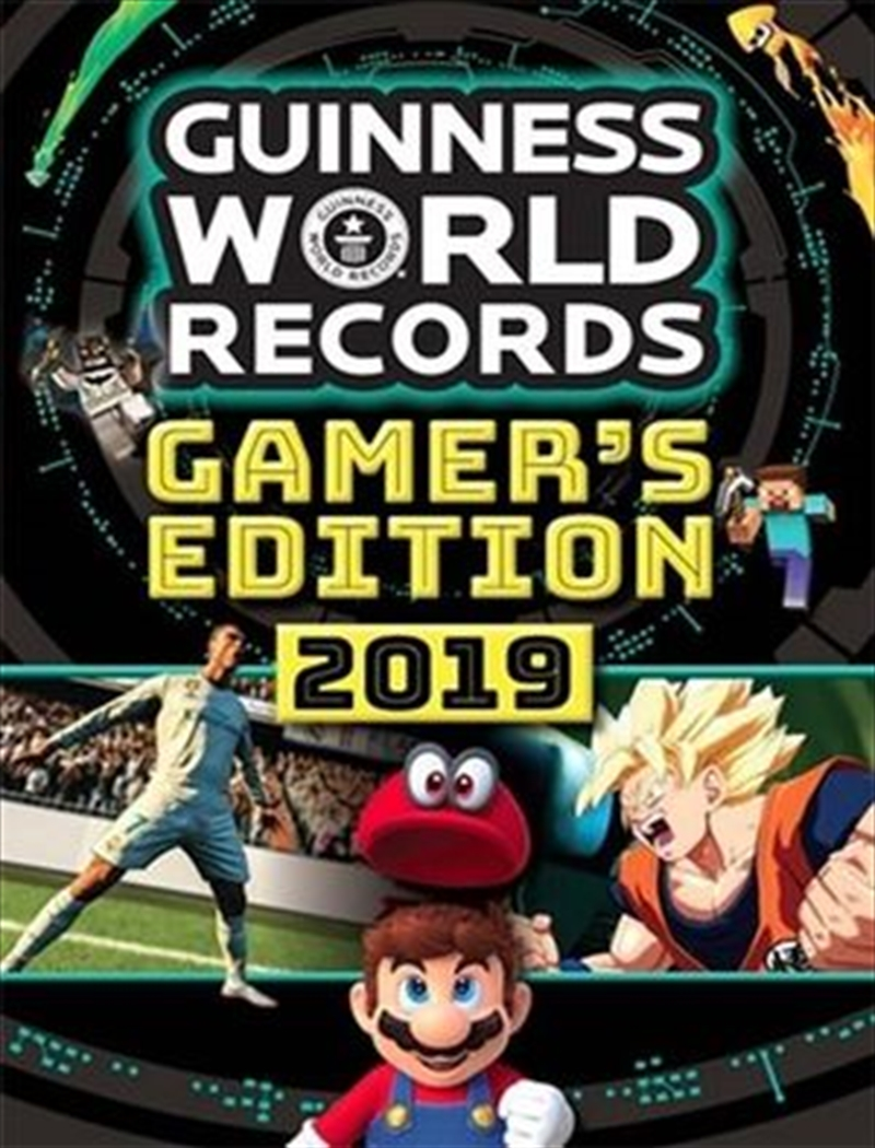 Guinness World Records 2019 Gamer's Edition | Paperback Book