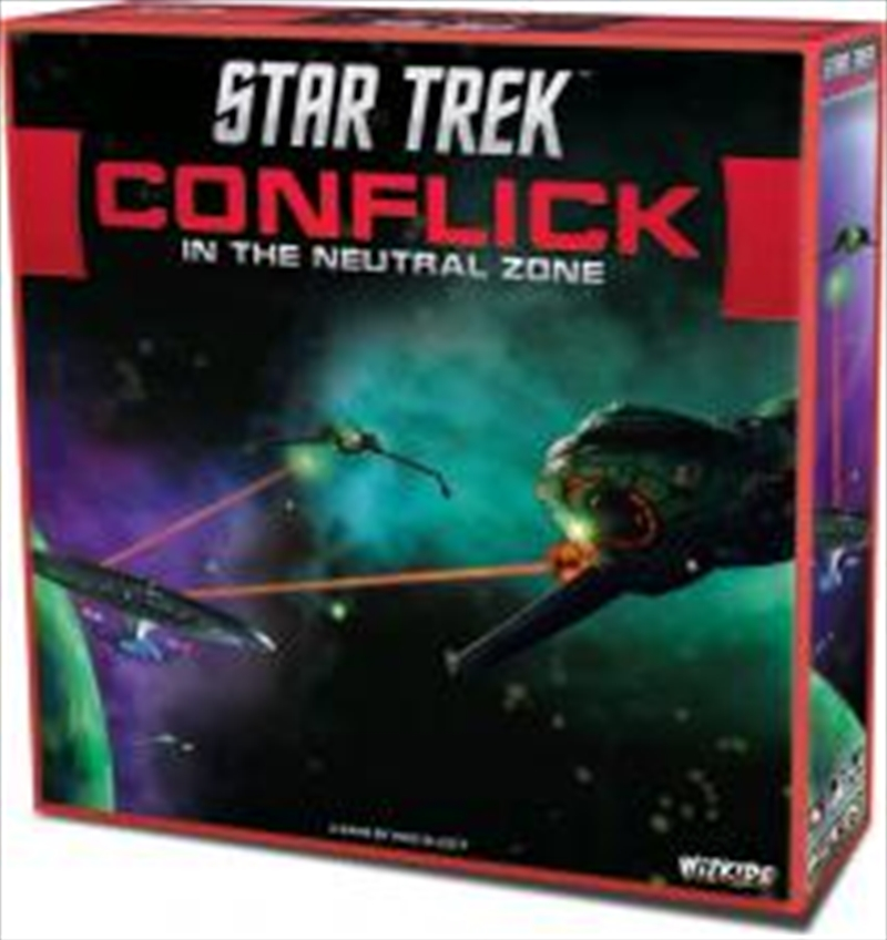 Star Trek - Conflick in the Neutral Zone Board Game | Merchandise