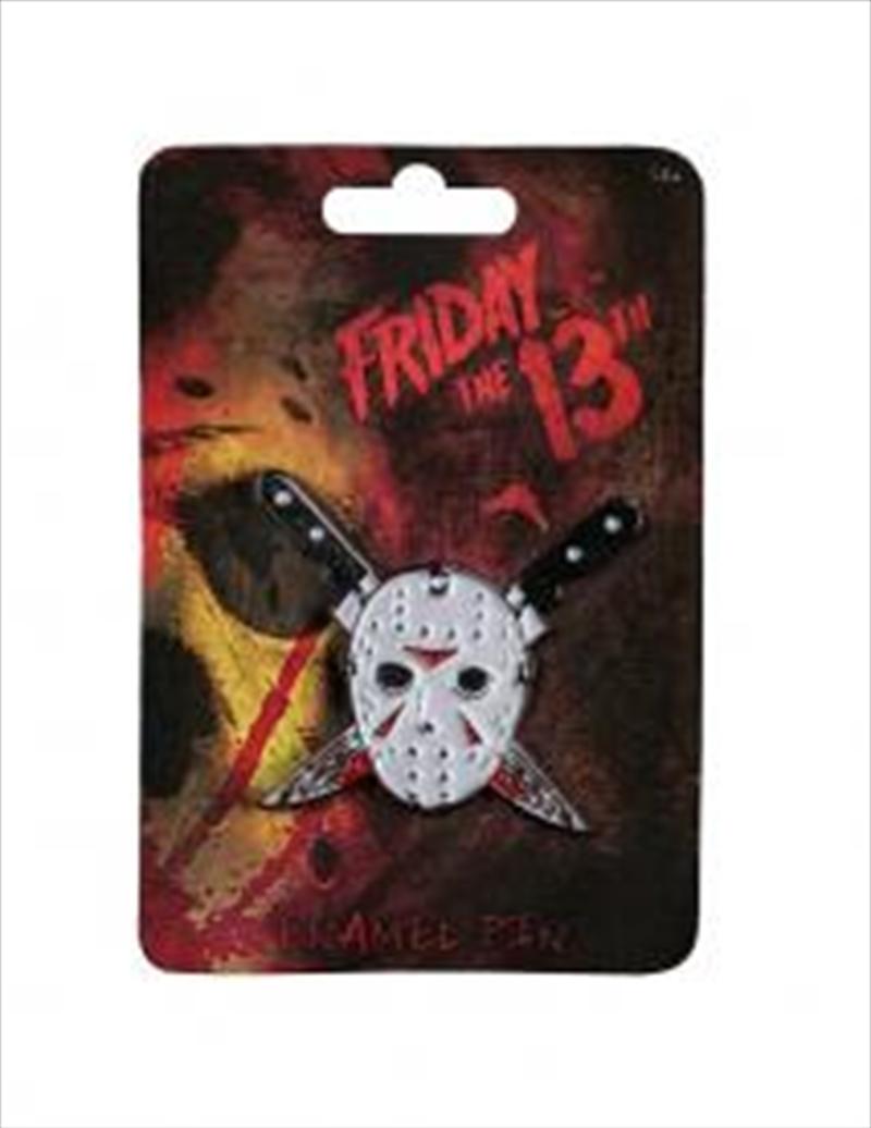 Friday the 13th - Jason Mask Enamel Pin | Merchandise