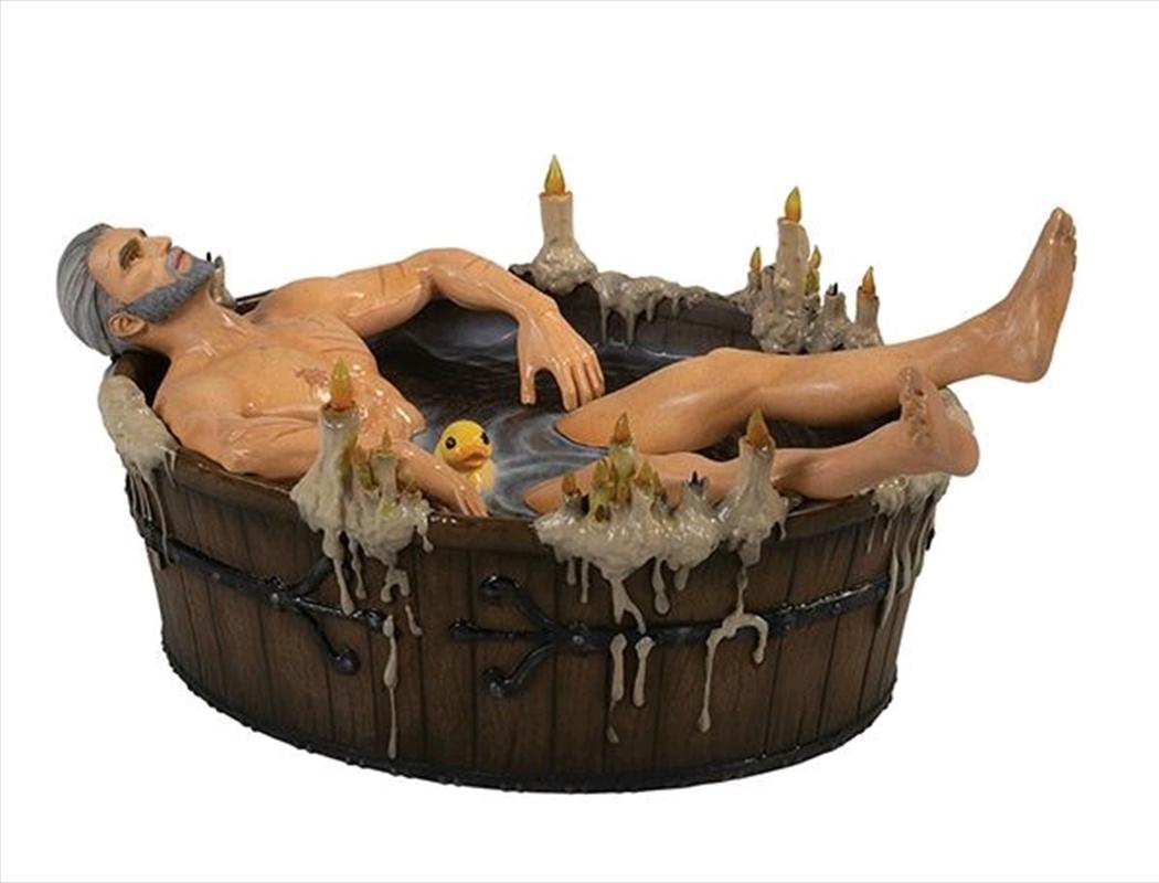 Geralt In The Bath Statuette | Merchandise