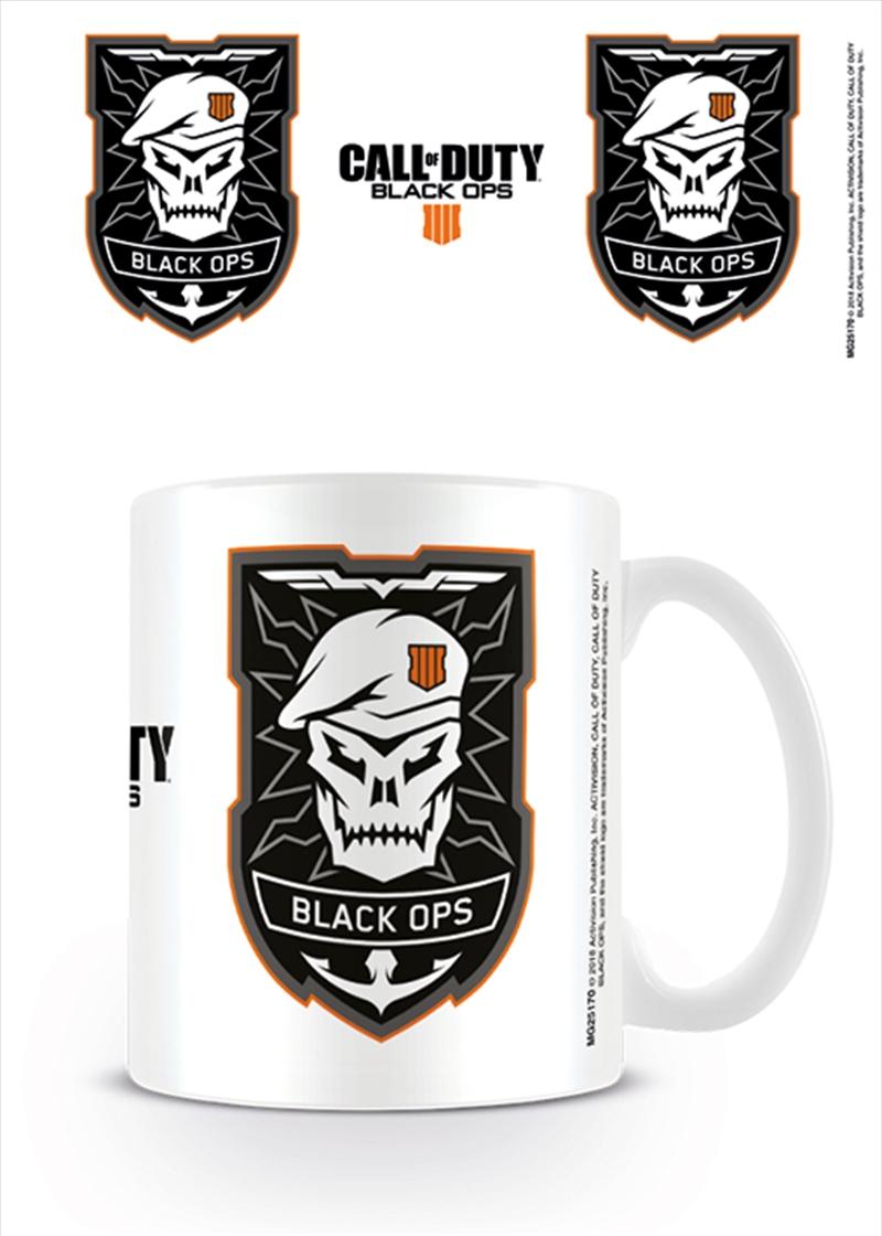 Cod Black Ops 4 Logo Mug   Merchandise