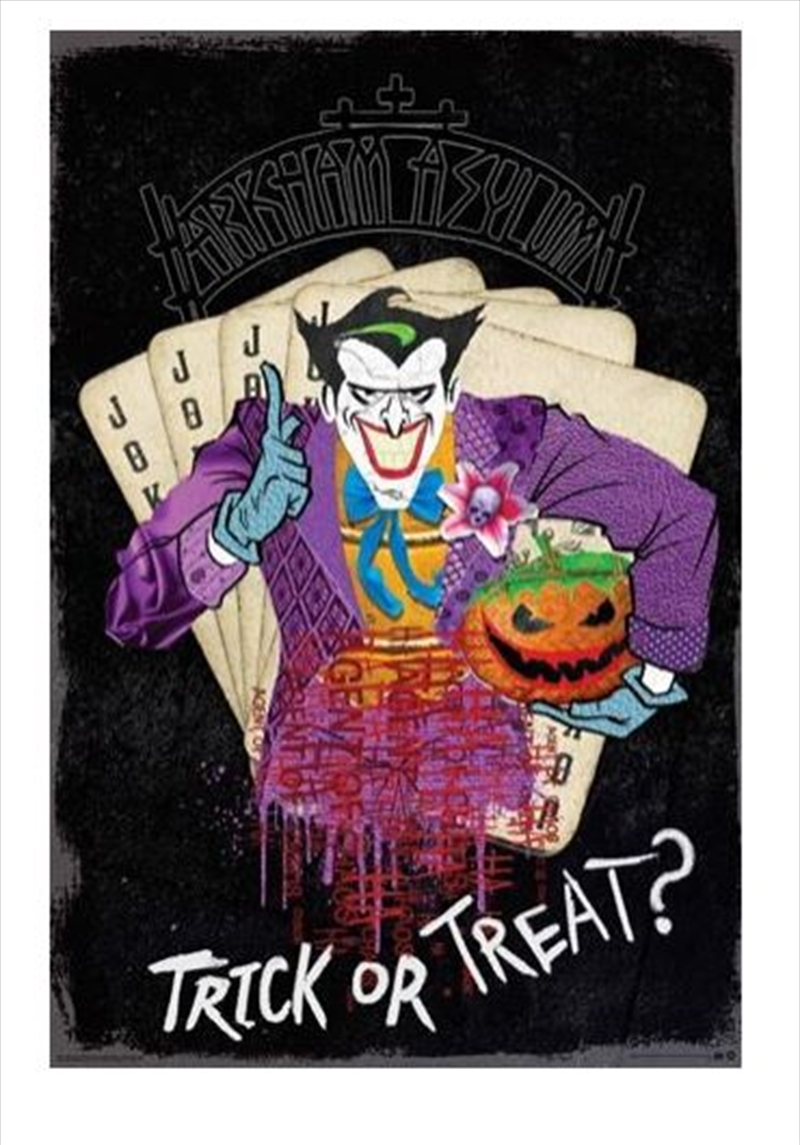 DC Comics - Joker Trick Or Treat | Merchandise