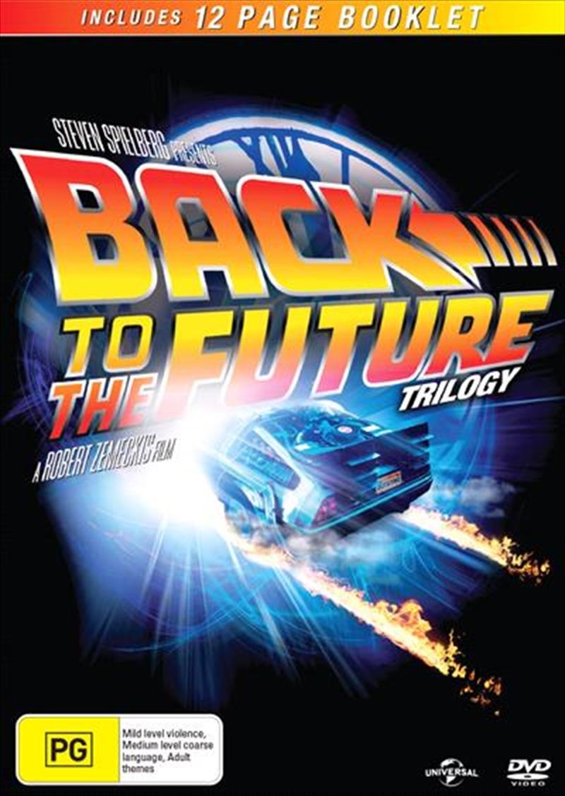 Back To The Future / Back To The Future 2 / Back To The Future 3 | DVD