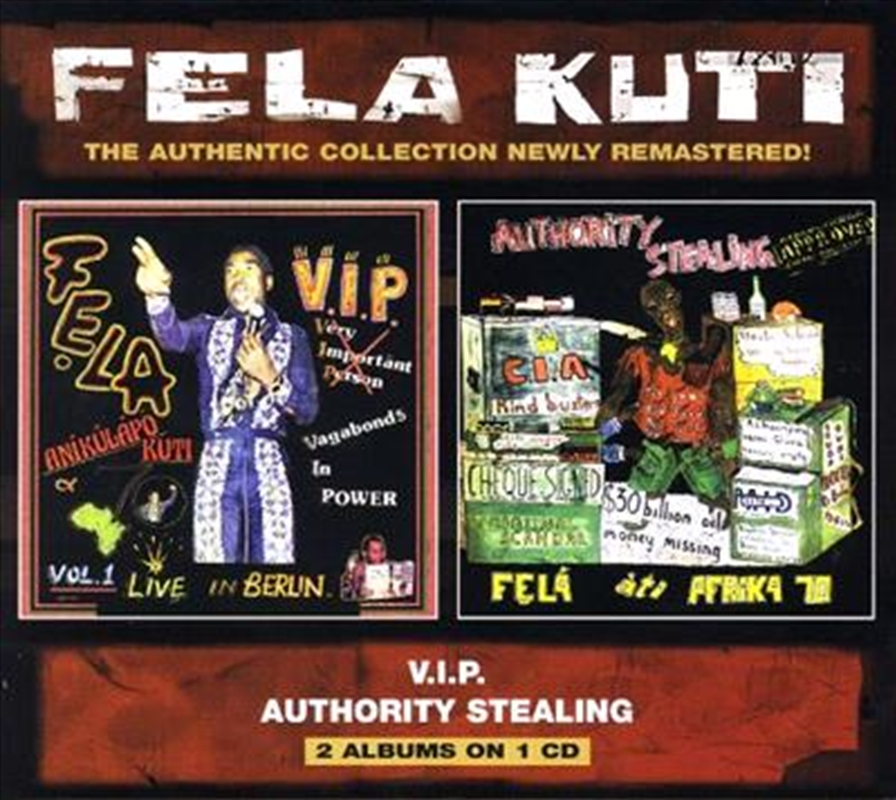 Vip/authority Stealing | CD