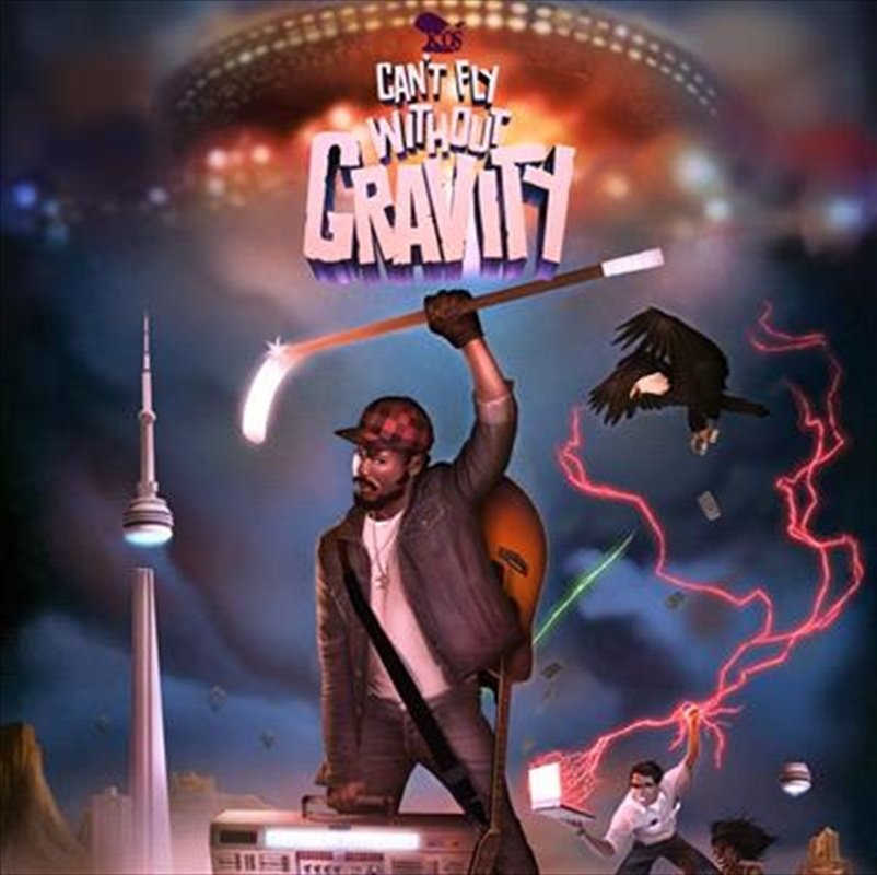Cant Fly Without Gravity | CD