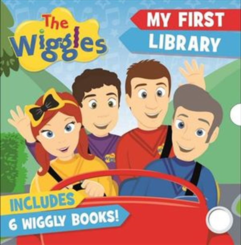 The Wiggles: My First Library Includes 6 Wiggly Books   Paperback Book