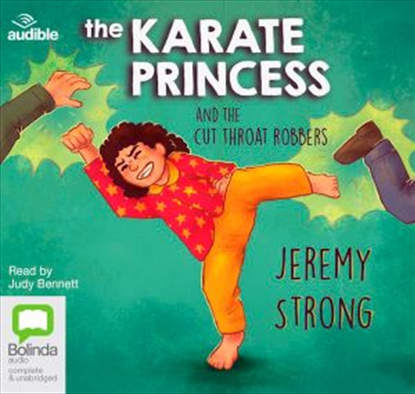 The Karate Princess & The Cut Throat Robbers | Audio Book