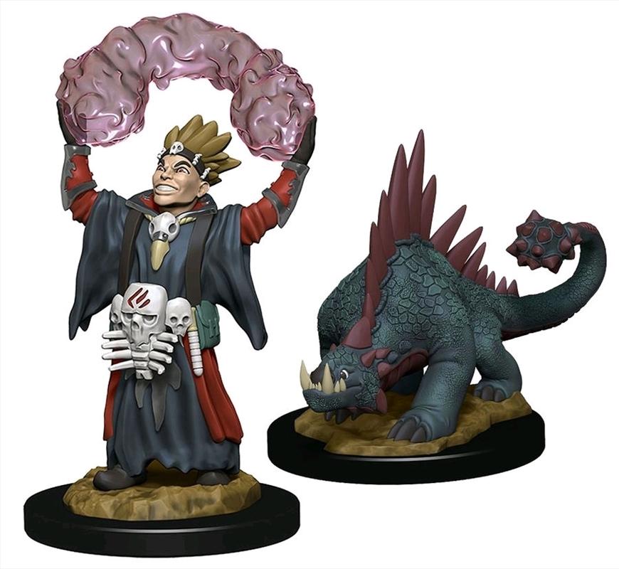 Wardlings - Boy Warlock & Lizard Pre-Painted Minis | Merchandise