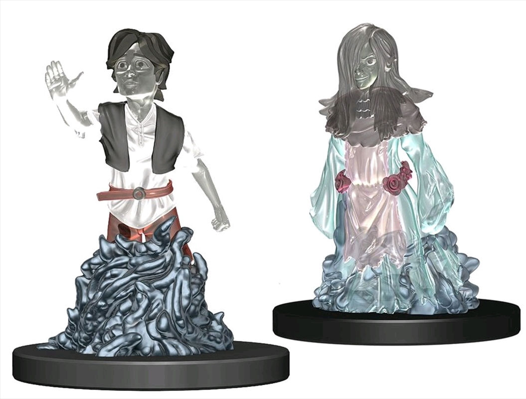Wardlings - Ghosts Male & Female Pre-Painted Minis | Merchandise