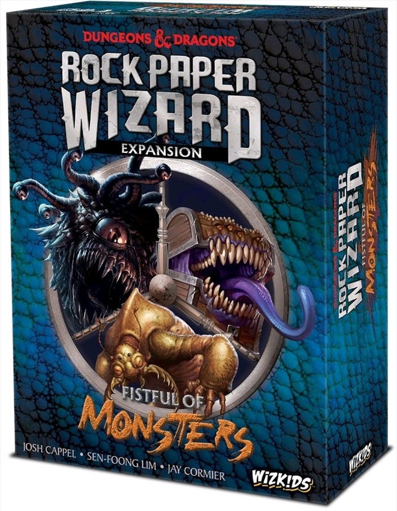 Dungeons & Dragons - Rock Paper Wizard Fistful of Monsters Expansion | Games