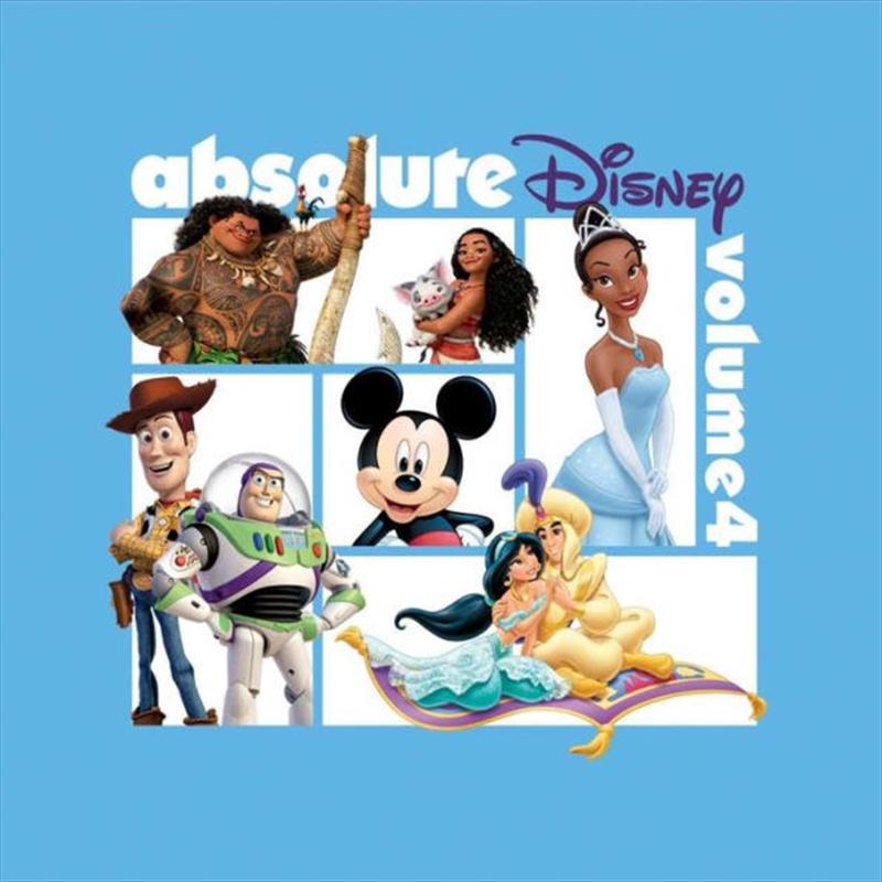 Absolute Disney - Volume 4 | CD