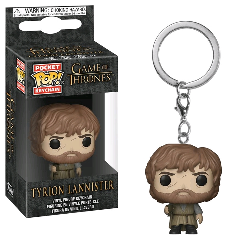 Game of Thrones - Tyrion Lannister Pocket Pop! Keychain | Pop Vinyl