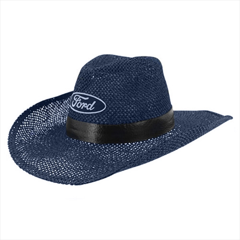 Ford Cowboy Hat - Navy - S/M   Apparel