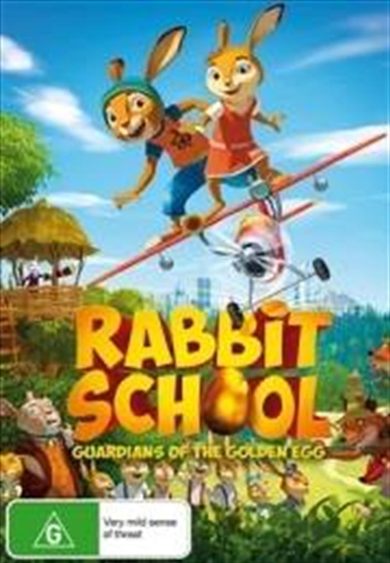 Rabbit School - Guardians Of The Golden Egg | DVD