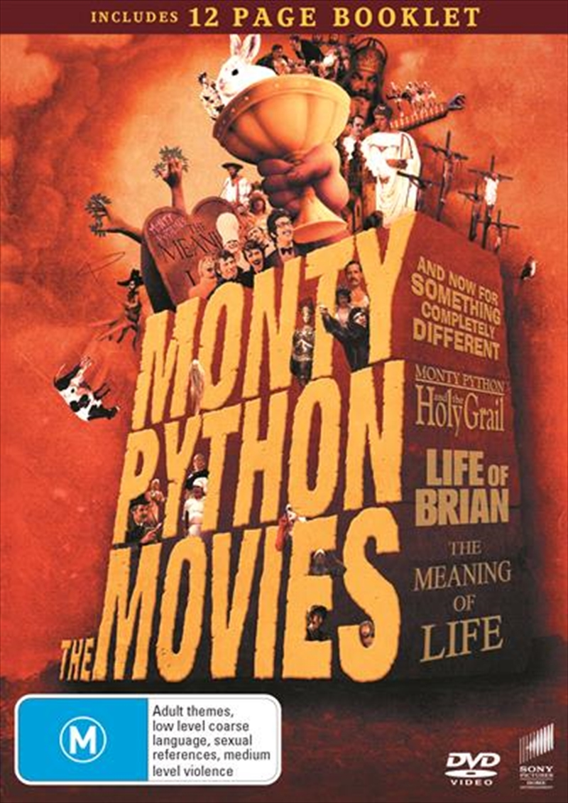 Monty Python - The Movies Collection 4 Pack - Franchise Pack | DVD