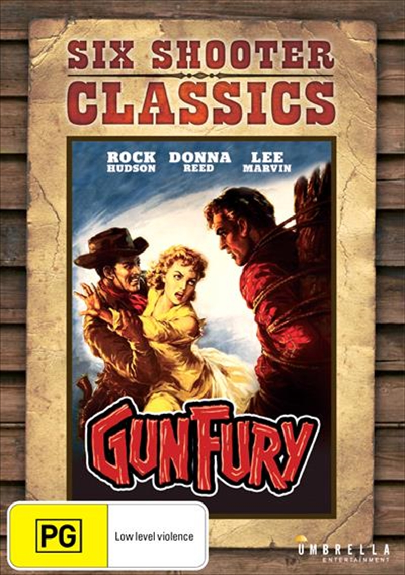 Buy Gun Fury on DVD | Sanity