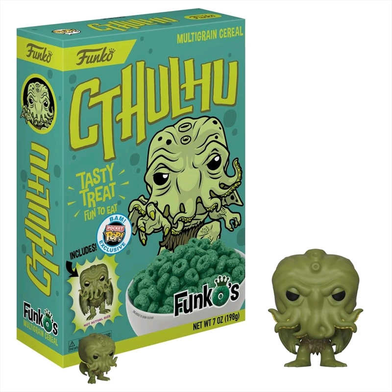 Cthulhu FunkO's Cereal In Collectable
