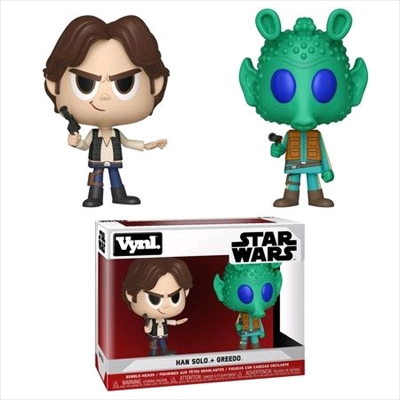 Star Wars - Han Solo & Greedo Vynl. | Merchandise