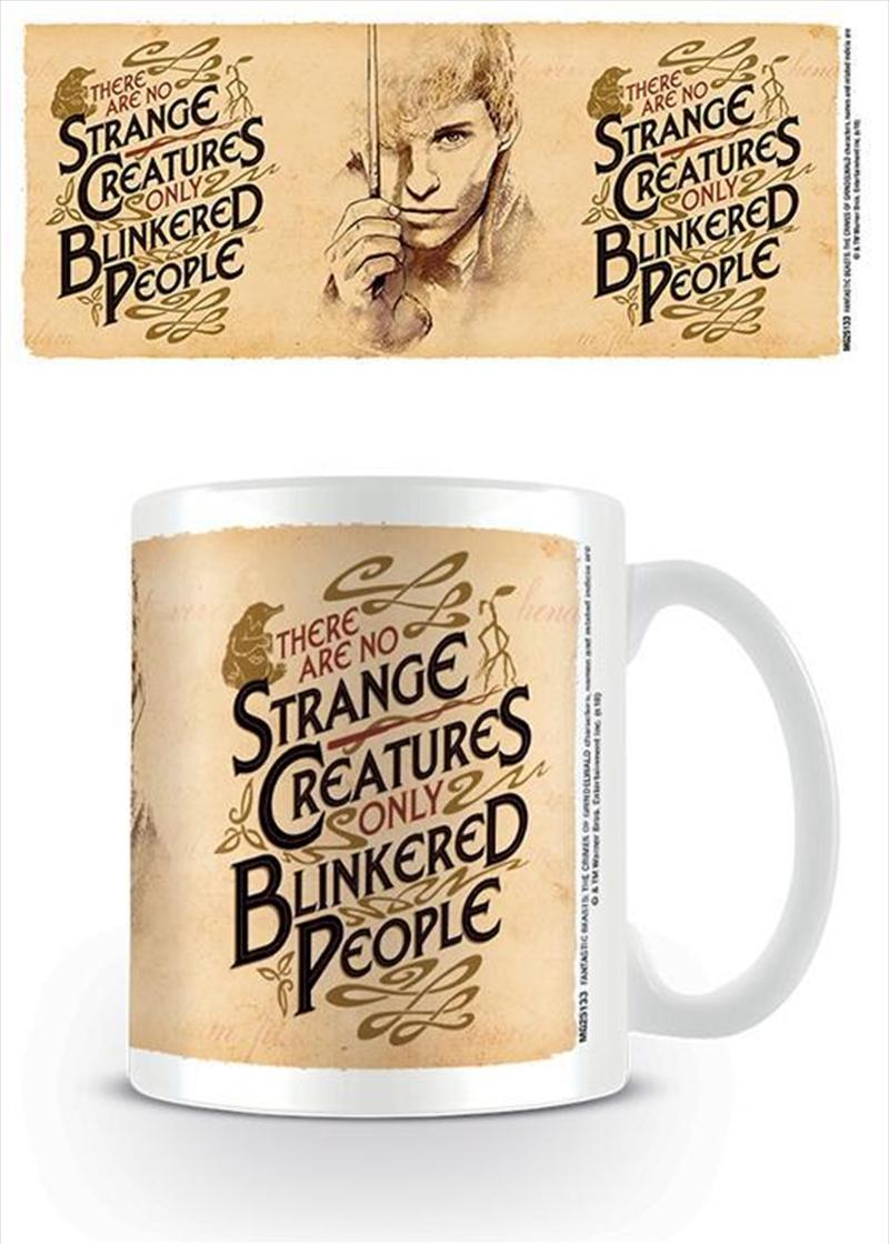Fantastic Beasts - Strange Creatures Mug | Merchandise