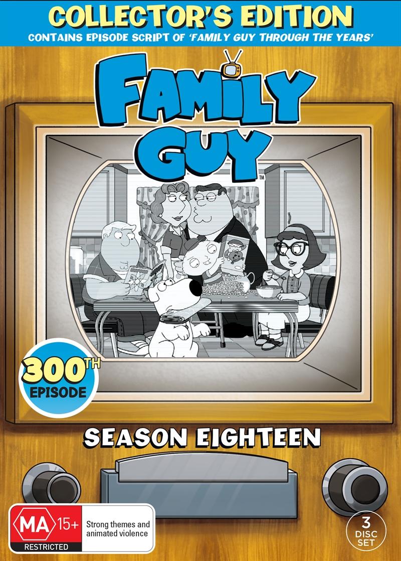 Family Guy - Season 18  (SANITY EXCLUSIVE) | DVD