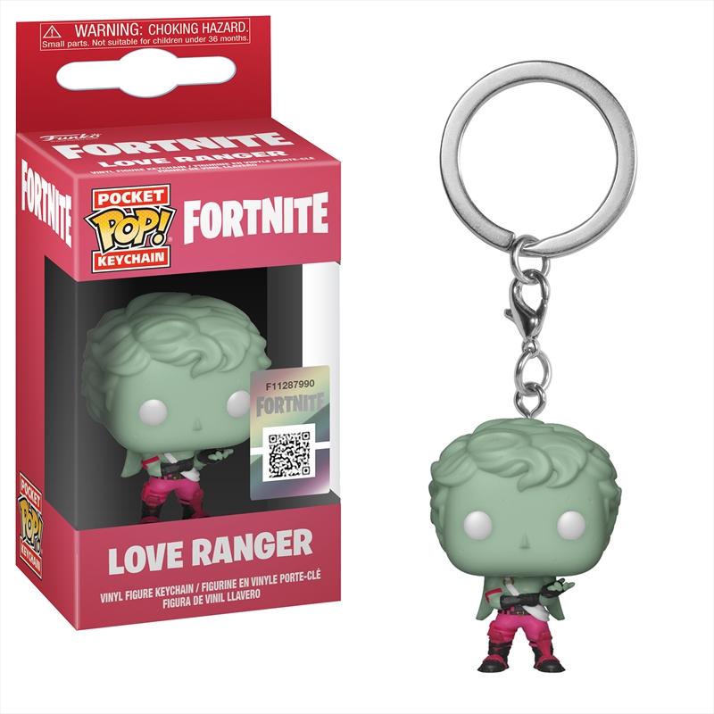 Fortnite - Love Ranger Pop! Keychain | Pop Vinyl