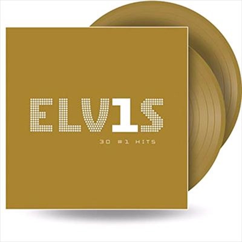 Elvis 30 No 1 Hits - Limited Edition Gold Vinyl | Vinyl