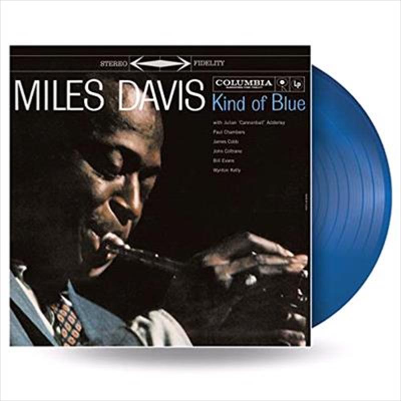 Kind Of Blue - Limited Edition  Blue/ Black/ White Coloured Vinyl   Vinyl