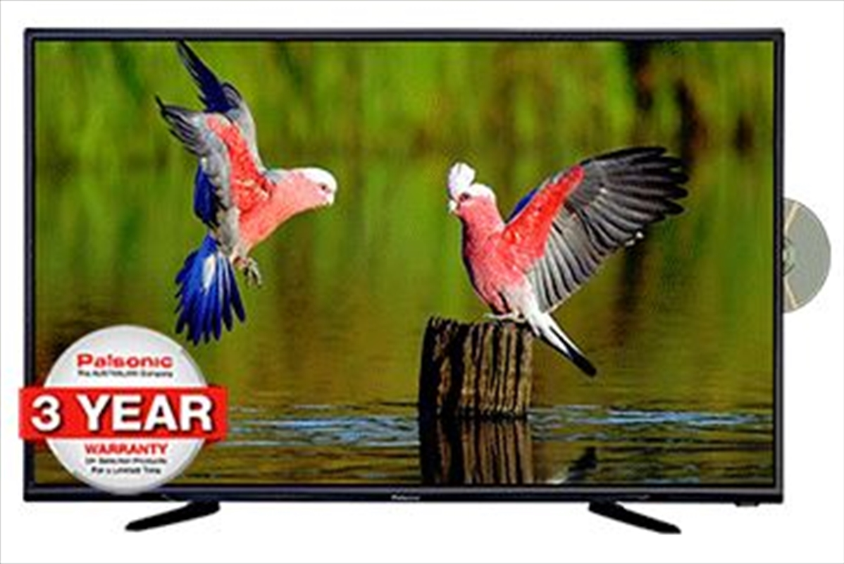 "Palsonic 43"" 109cm LED LCD TV/DVD Combo (3 Year Warranty) 