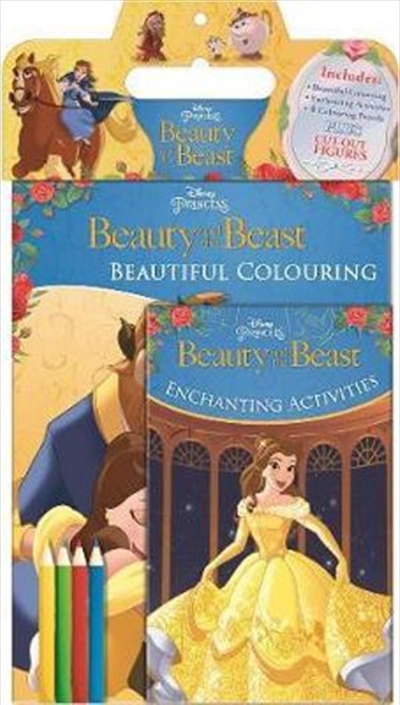 Disney Princess Beauty and the Beast Activity Pack | Paperback Book
