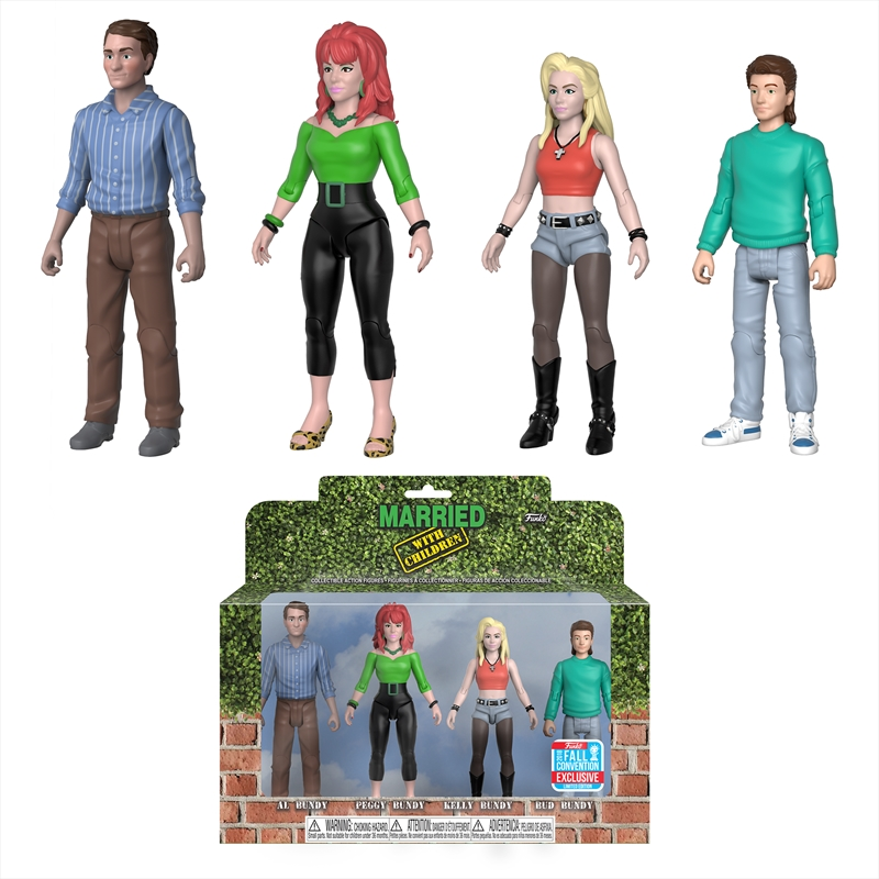 Married with Children - Bundys NYCC 2018 Exclusive Action Figure 4-pack [RS] | Merchandise