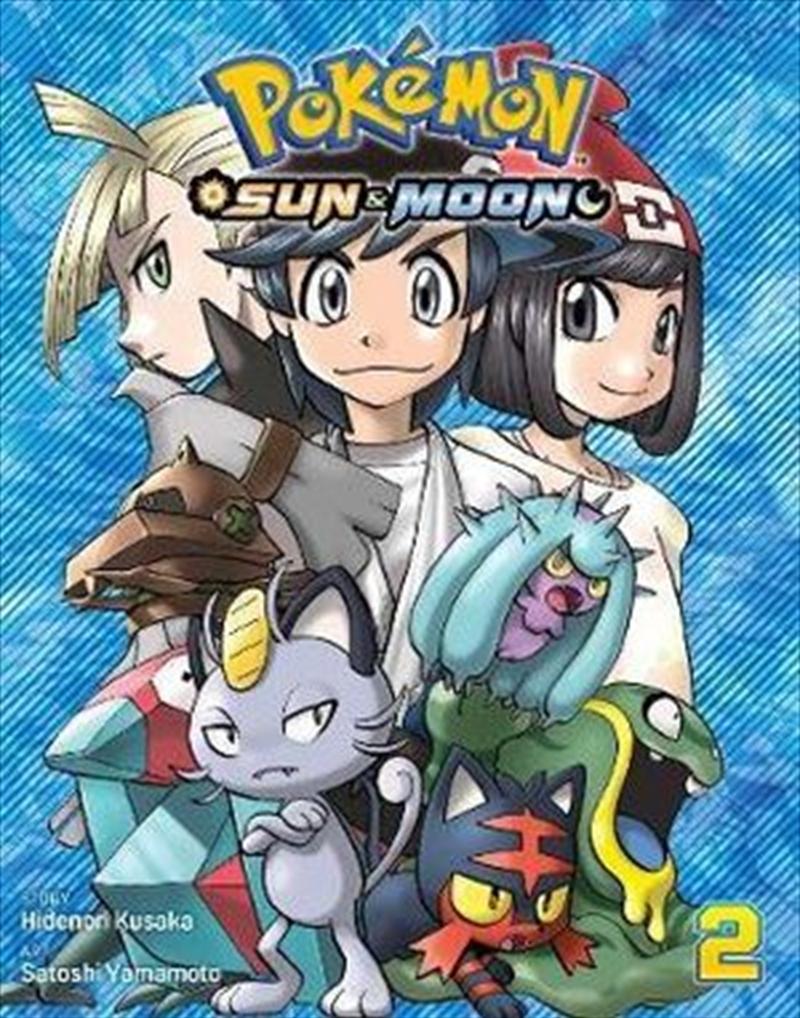 Pokemon: Sun And Moon Vol 2 | Paperback Book