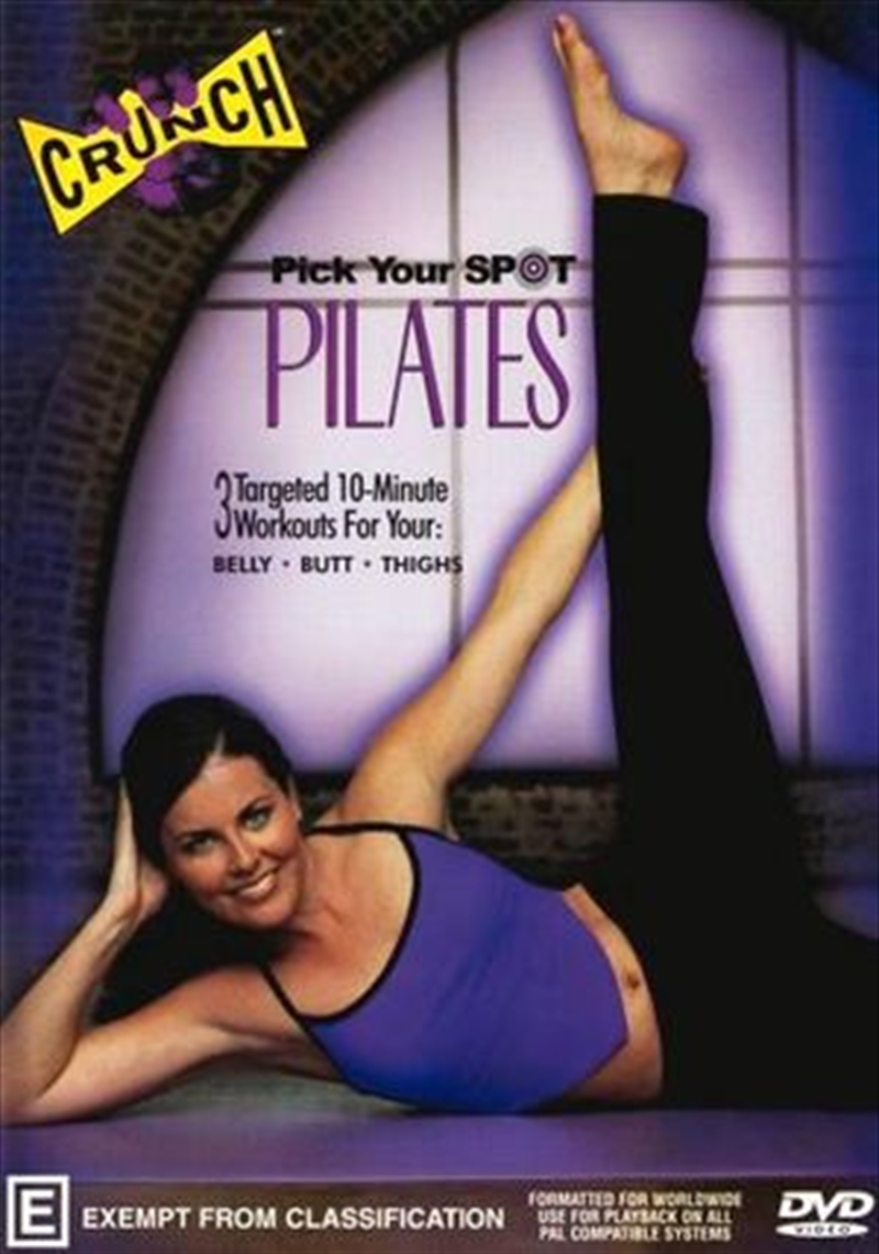 Crunch Pick Your Spot Pilates | DVD