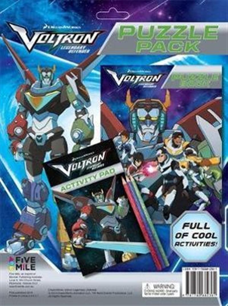 Voltron Puzzle Pack | Paperback Book