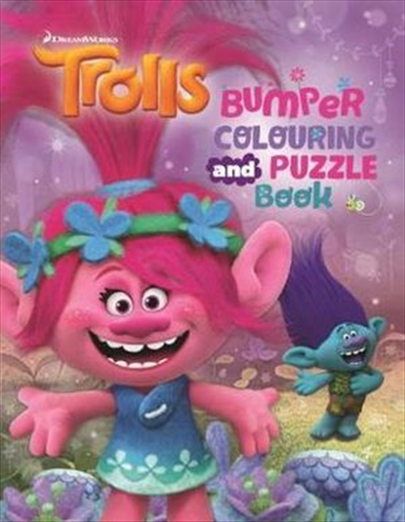 Trolls : Bumper Colouring and Puzzle Book | Paperback Book