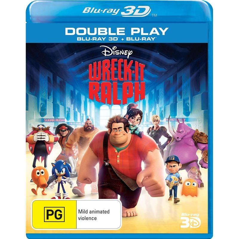 Wreck-It Ralph | Blu-ray 3D