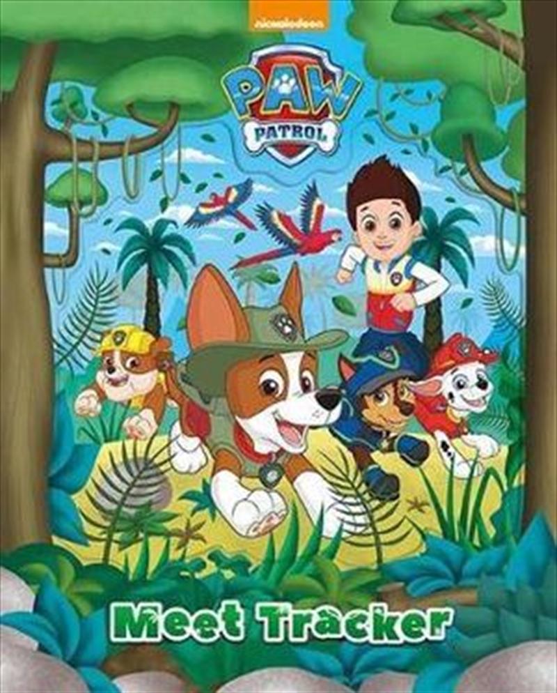 Nickelodeon PAW Patrol Meet Tracker | Hardback Book
