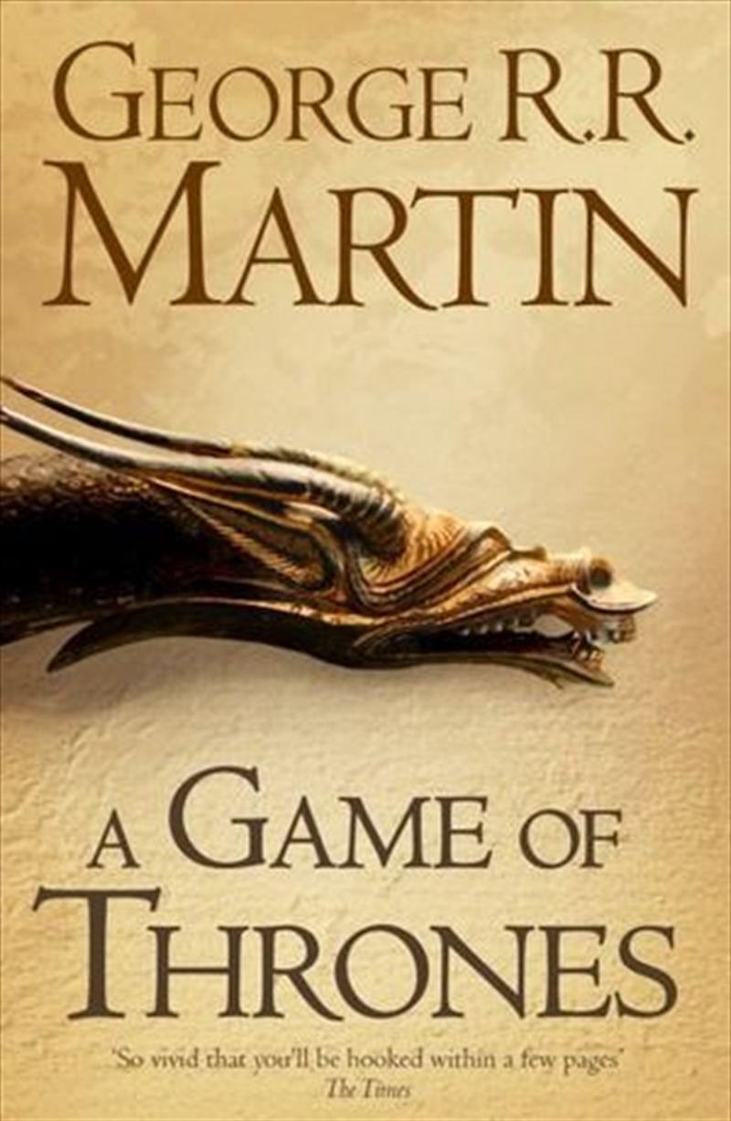 A Game of Thrones Book 1 of A Song of Ice and Fire | Paperback Book