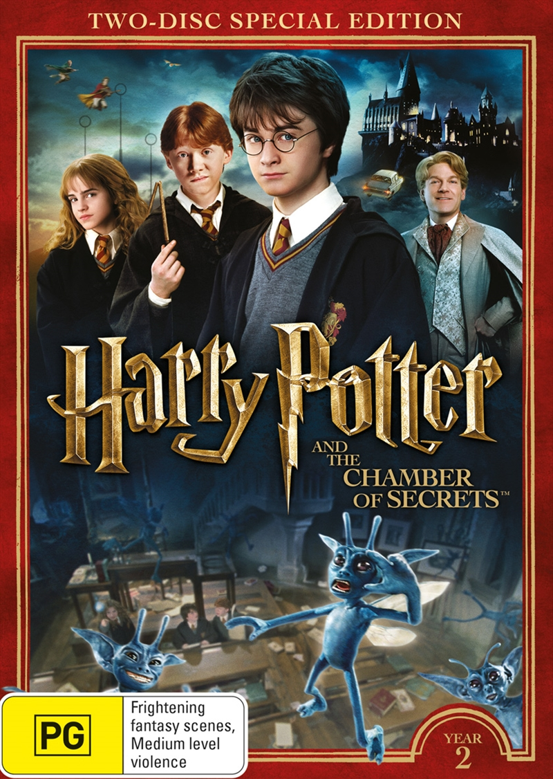 Harry Potter And The Chamber Of Secrets - Limited Edition Year 2 | DVD