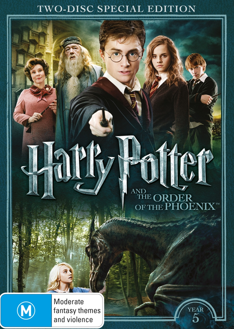 Harry Potter And The Order Of The Phoenix - Limited Edition Year 5 | DVD