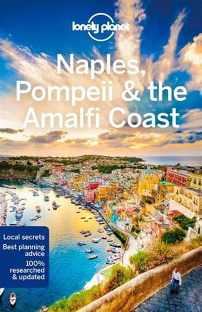 Naples, Pompeii And The Amalfi Coast | Paperback Book